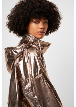 Clara Windbreaker Foil Jacket