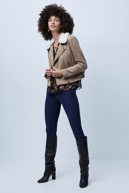 amaranta faux shearling jacket