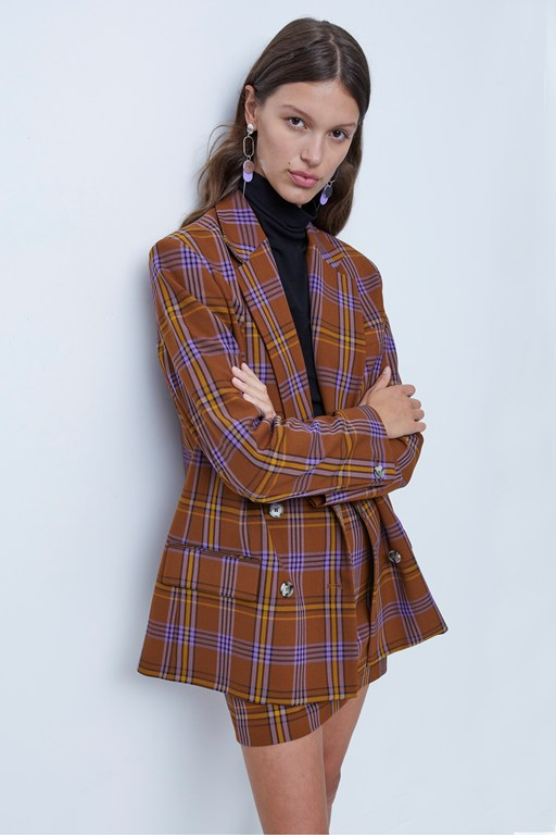 immy suiting double breasted jacket