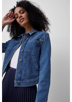 Robyne Recycled Cropped Denim Jacket