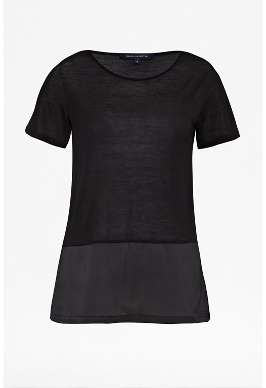 Polly Plains Peplum T-shirt