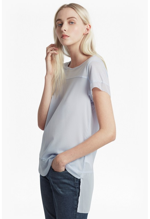 Polly Raw Edge Top