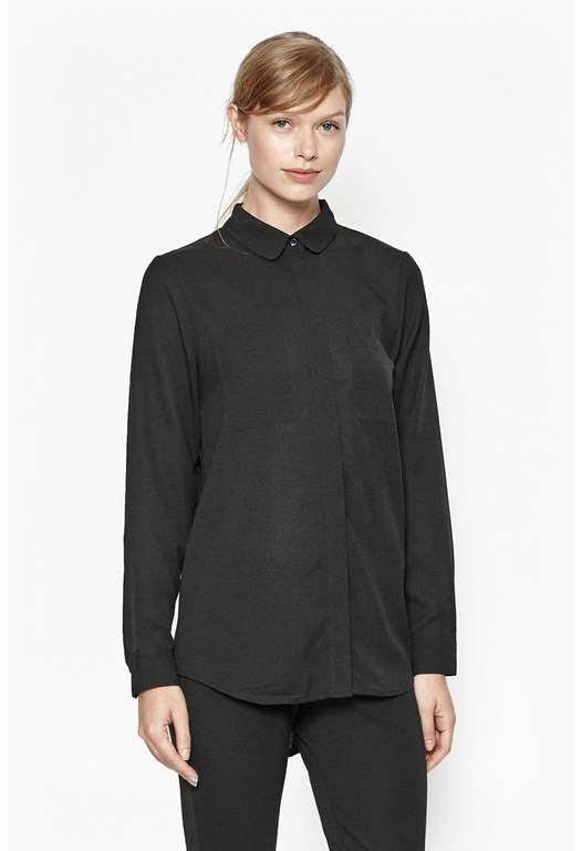 Polly Plains Oversized Pocket Shirt