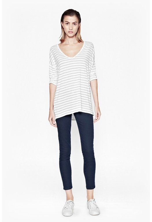 Sonny Slouch Striped Top