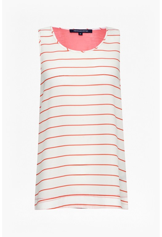 Polly Plains Stripe Vest
