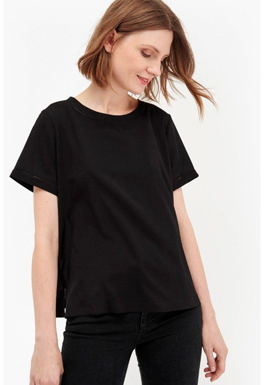 Polly Plains Stitch Tee