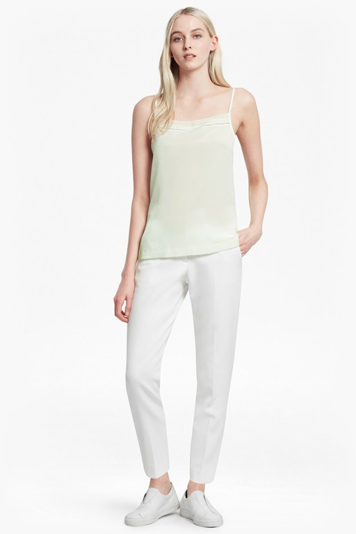 Complete the Look Crepe Light Stitch Cami