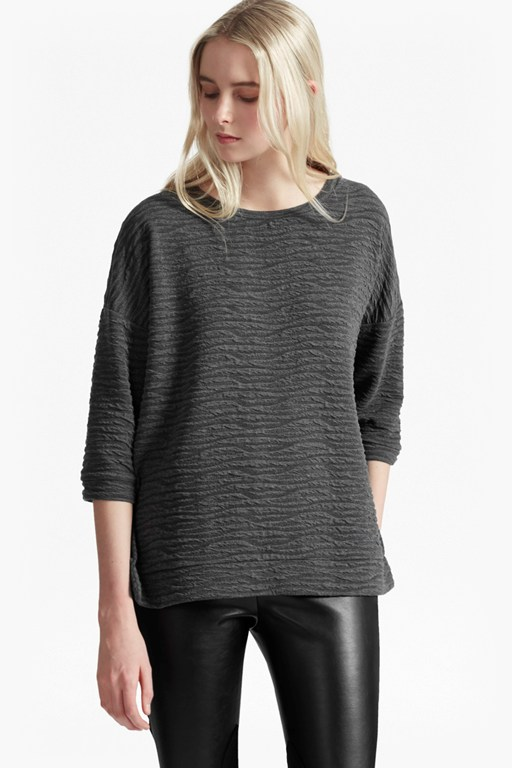 Complete the Look Sudan Marl Texture Jumper