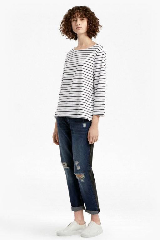 Complete the Look Tim Tim Breton Striped Top