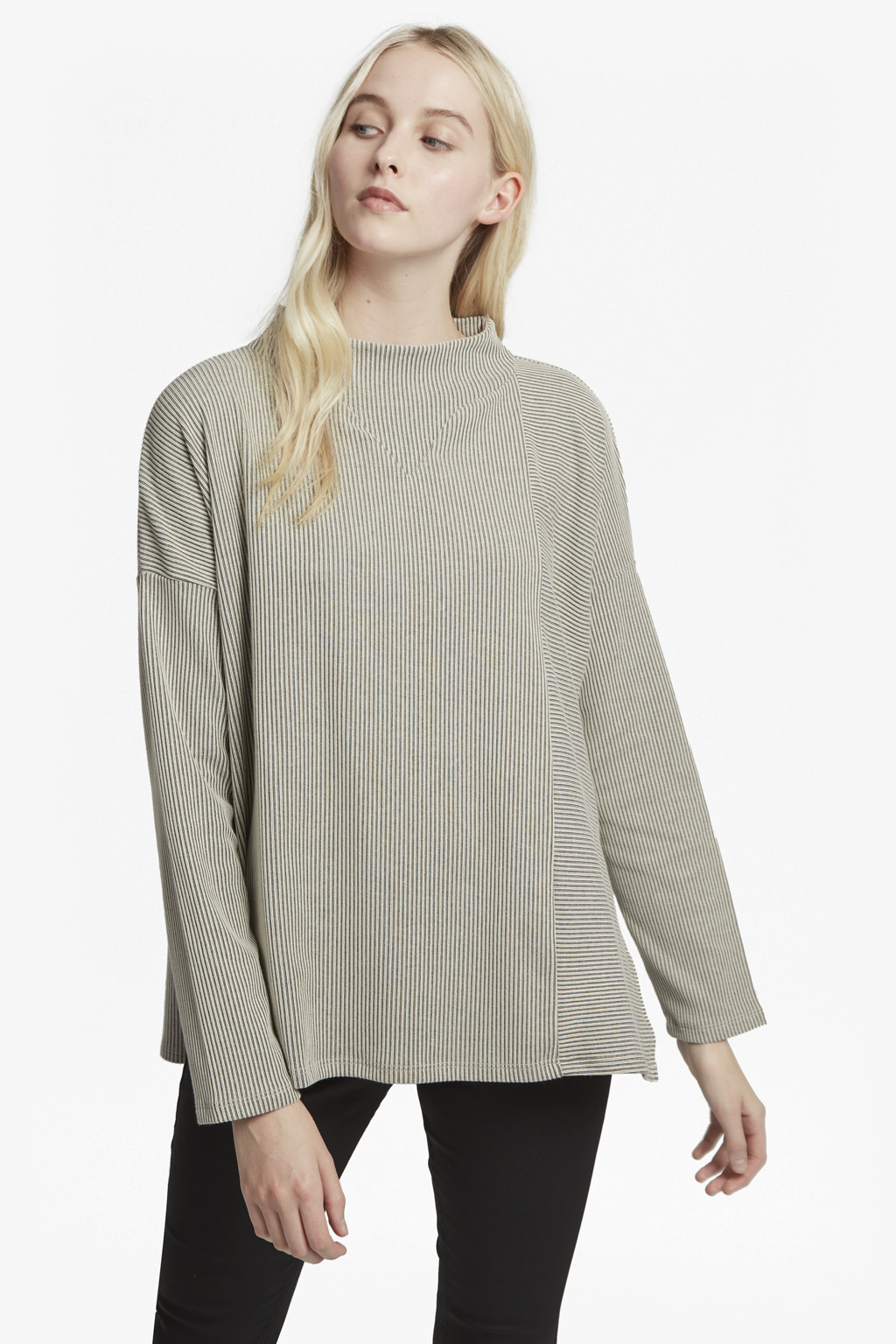 French Connection Sario Rib Jersey Top Cheap Sale Store IwYvJTt
