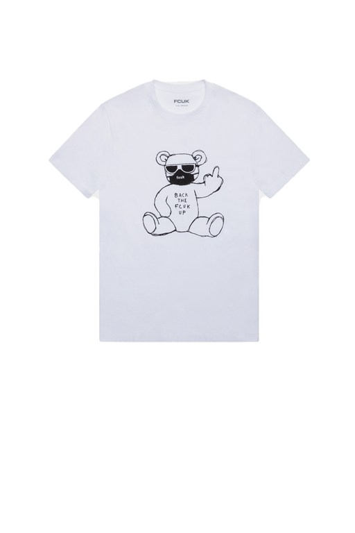 fcuk rude bear tee