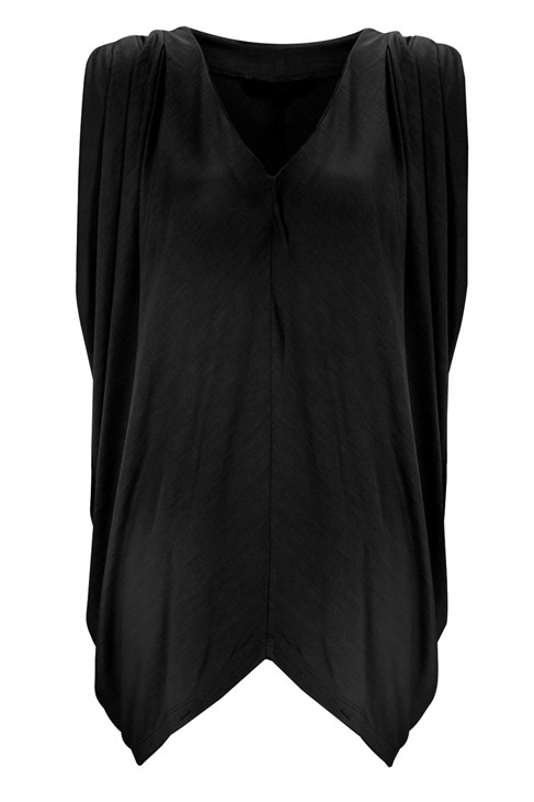 Camille Drape Batwing Top