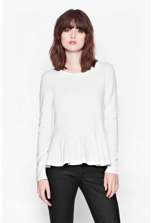 Abney Jersey Flared Top