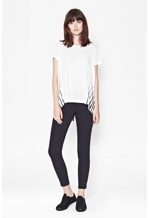 Pushia Pleat Back T-Shirt