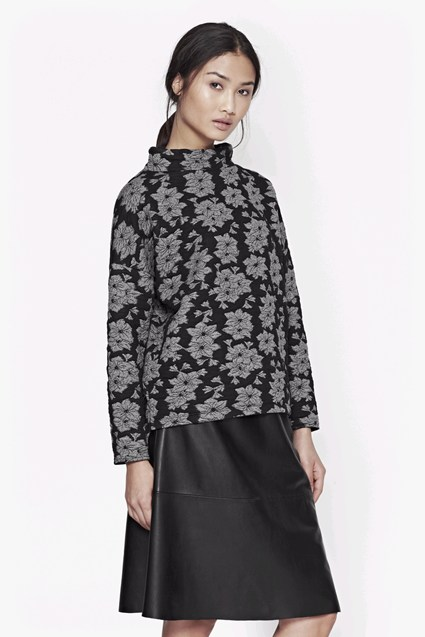 Acid Lily Jacquard Top