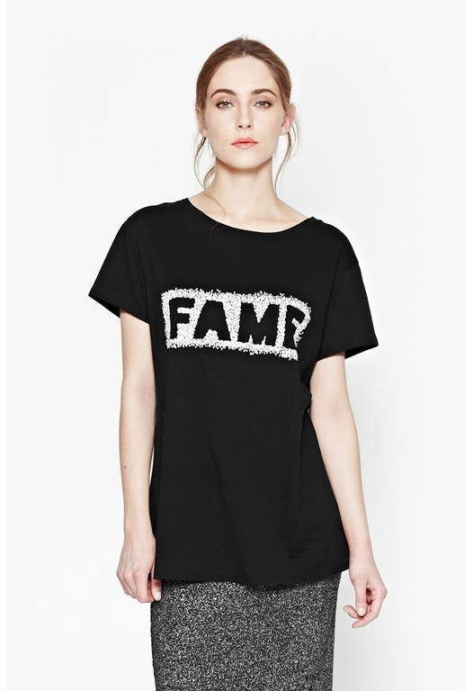 Fame Cotton T-Shirt