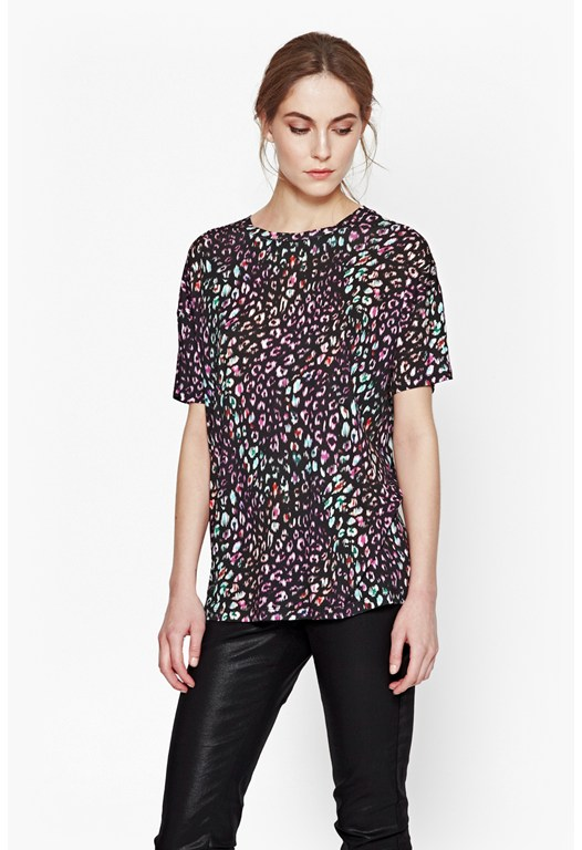 Electric Leopard T-Shirt