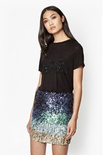 Looks Great With Good Bad Sequin T-Shirt