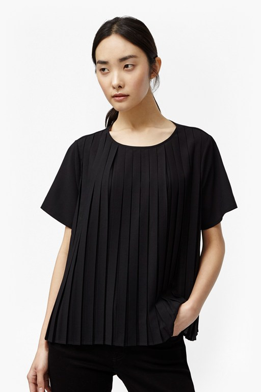 Complete the Look Polly Pleats Boxy Top