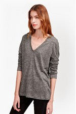 Looks Great With Laurel Linen Long Sleeved T-Shirt