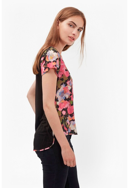 Adeline Dream Floral Pocket Top