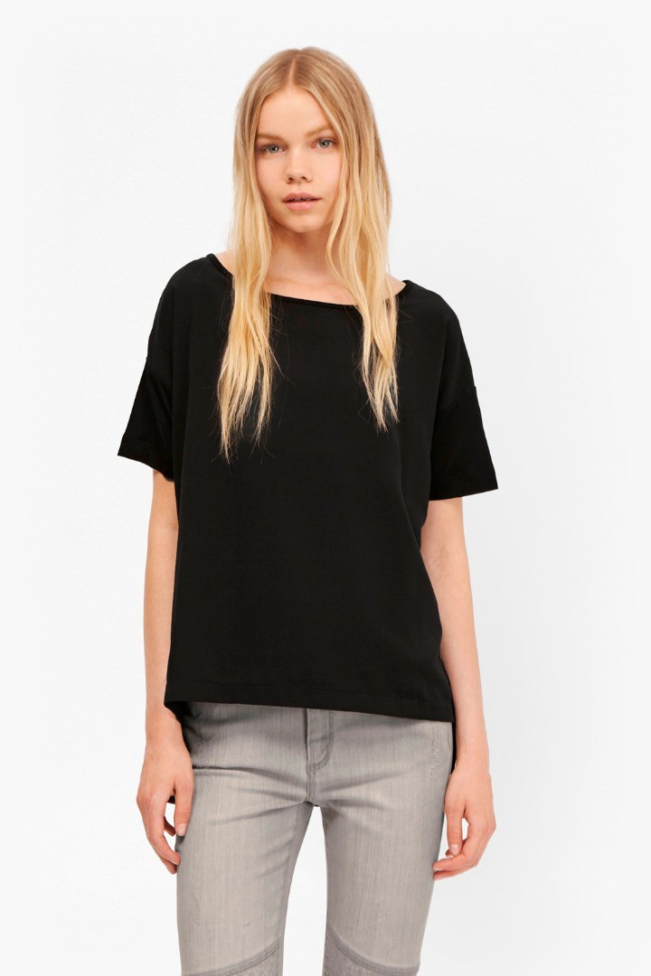 Gifty Woven Mix T-Shirt