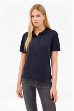 Looks Great With Tencel Pique Polo Shirt