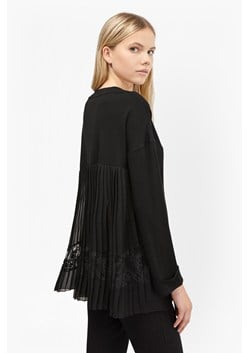 Arrow Lace Back Jersey Jumper