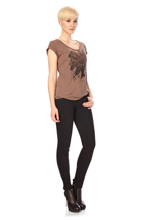 Midnight Fern Tee