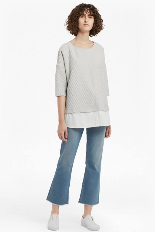 Complete the Look Dixie Textured Top