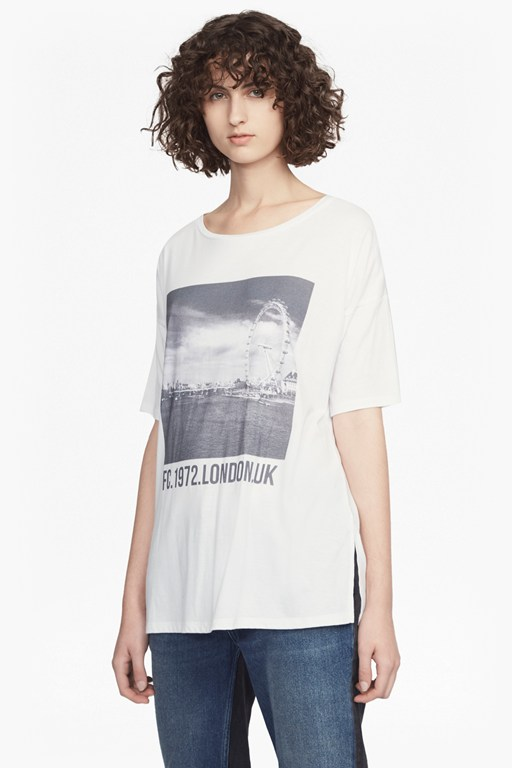 Complete the Look London Eye Round Neck Jersey T-Shirt