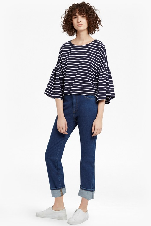 tim tim bell sleeves top