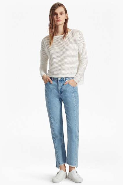 Vosporous Ladder Jersey Top