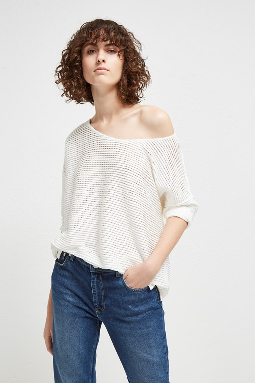 vosporos drop shoulder top