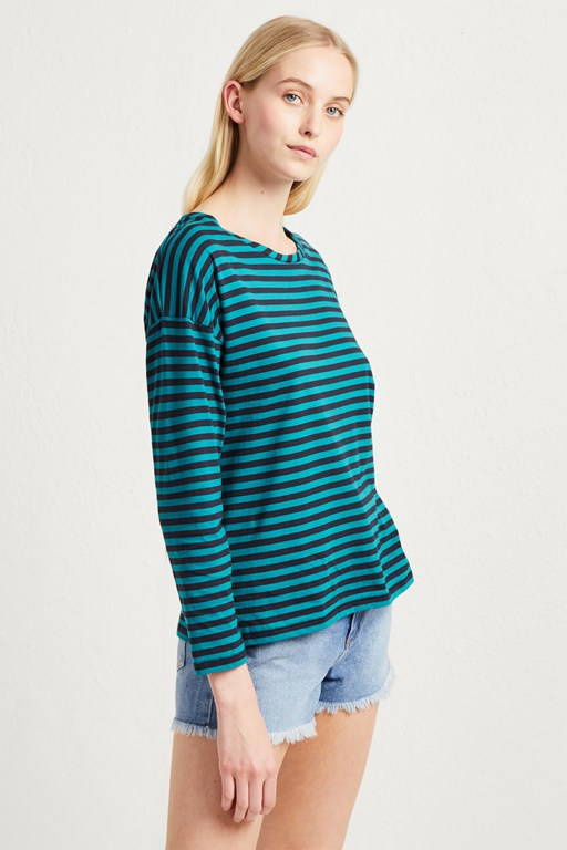 tim tim light stripe top