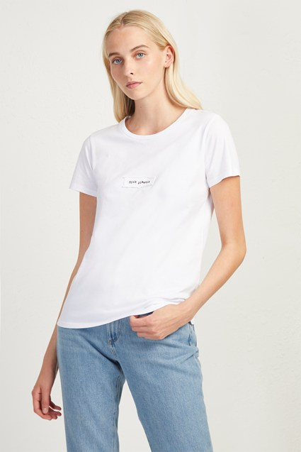 Woman FCUK Plastic Charity T-Shirt