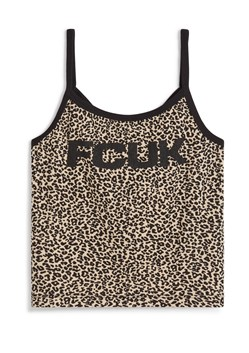 FCUK ANIMAL STRAPPY TANK TOP