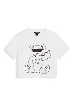 RUDE BEAR SHORT SLEEVE CROP TOP
