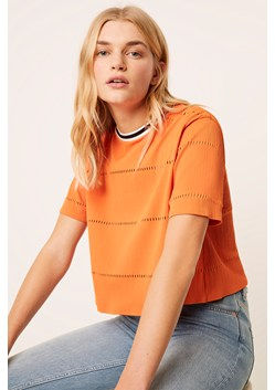 Rayna Ladder Short Sleeve Top