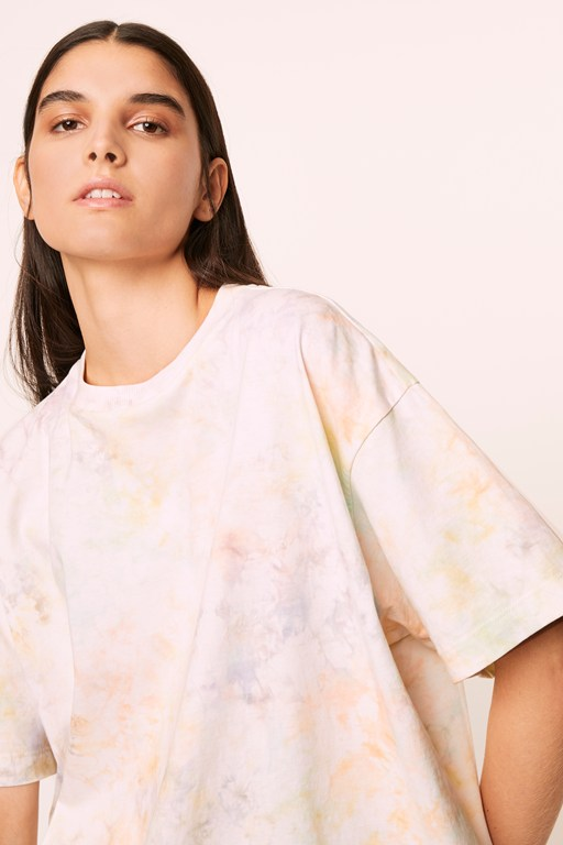 Complete the Look Yasha Tie-Dye Oversized Tee
