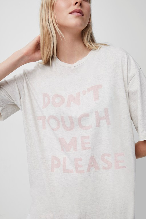 Complete the Look Don't Touch Me Please Organic T-Shirt