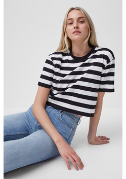 Cotton Non Stretch Jersey Crop Tee