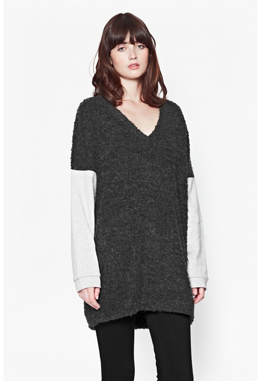 Verona Knit Contrasting Sweater