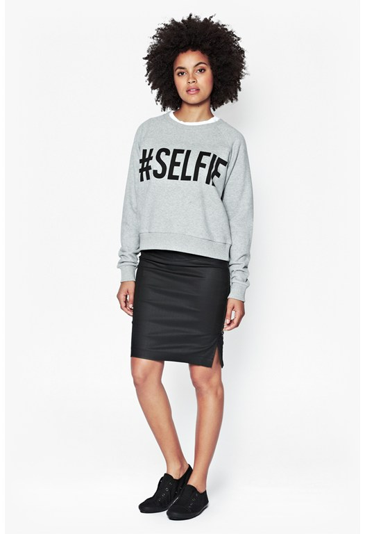 Selfie Cotton Sweater