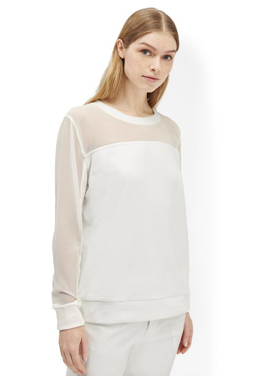 Clean Team Sheer Sweatshirt