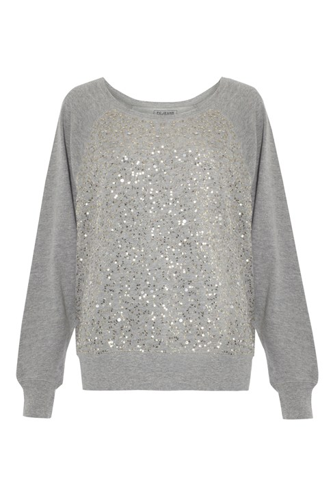 Ellen Sequin Swear Top