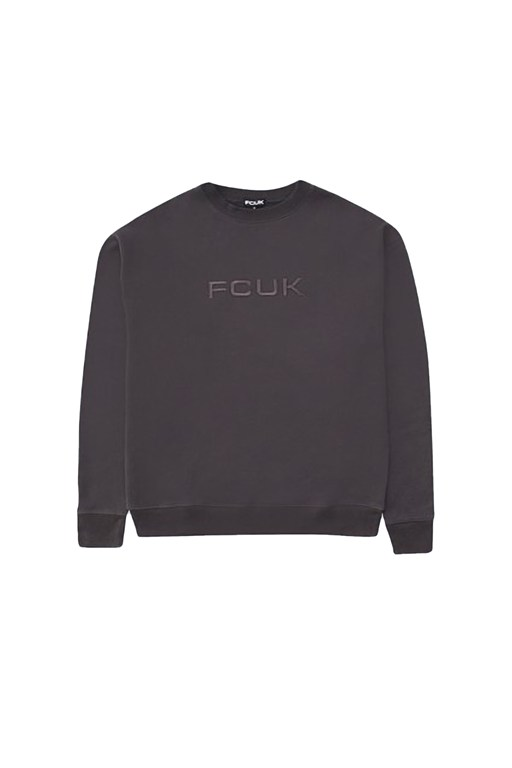 fcuk tonal oversized sweater