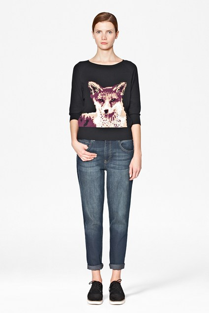 Fox Knitted Jumper