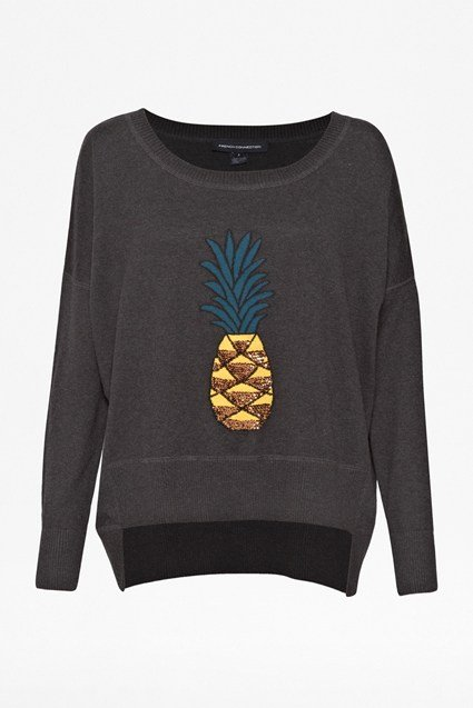 Pineapple Sequin Knits Jumper