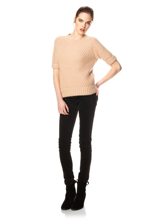 Pineapple Fluff Raglan Jumper